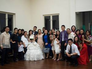 Kuya JR's wedding.